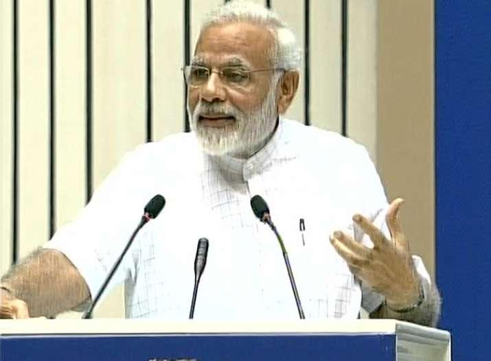 PM Modi addressed a students' convention in New Delhi today
