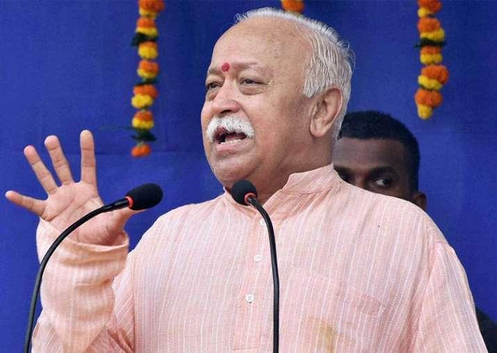 Rashtriya Swayamsevak Sangh (RSS) chief Mohan Bhagwat