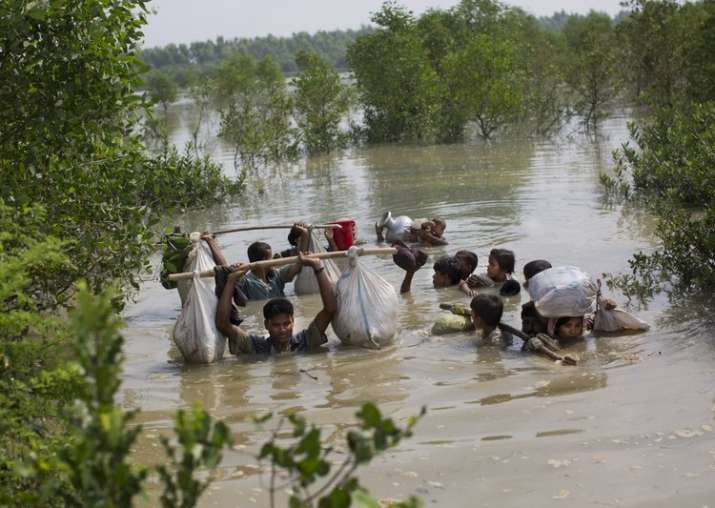 5 drown after boat carrying 35 Rohingya Muslims capsises in