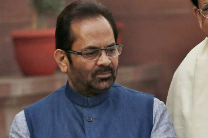 Union minister MA Naqvi's sister stalked in UP's