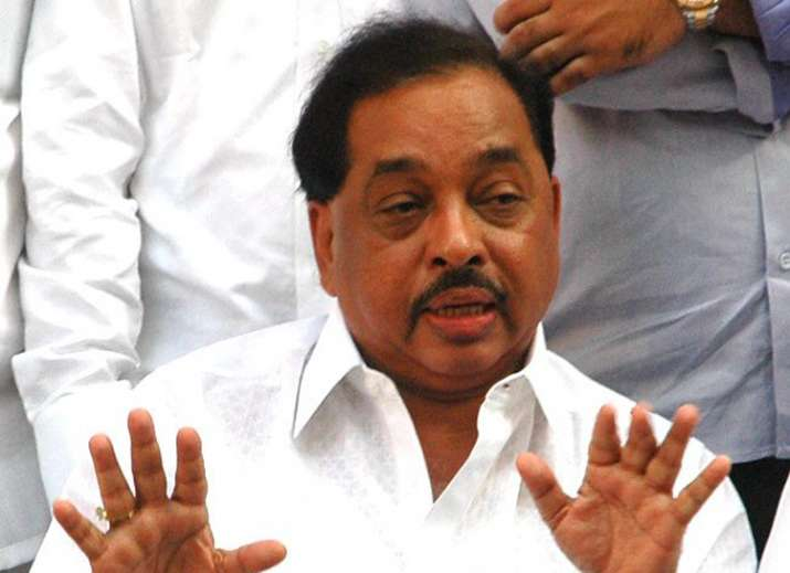 Narayan Rane resigned from Congress party today