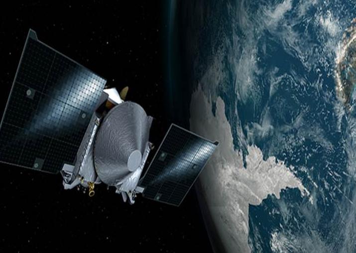 NASA's asteroid-bound spacecraft flies by Earth
