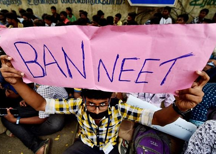 What steps have you taken to check anti-NEET protests?