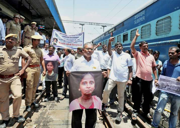 India Tv - Anti-NEET protest