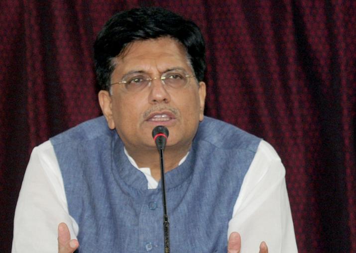 File pic of Union Minister Piyush Goyal