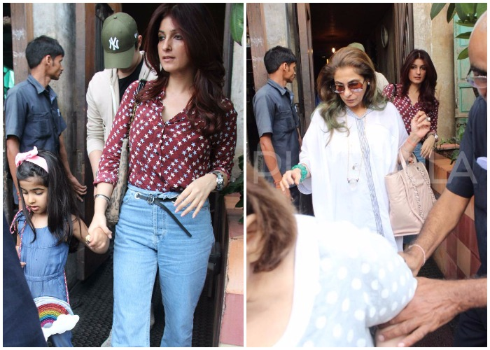 Twinkle Khanna's cute lunch date with son Aarav and ...