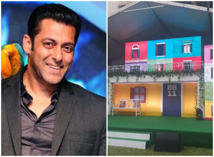 Bigg Boss season 11 colourful sets