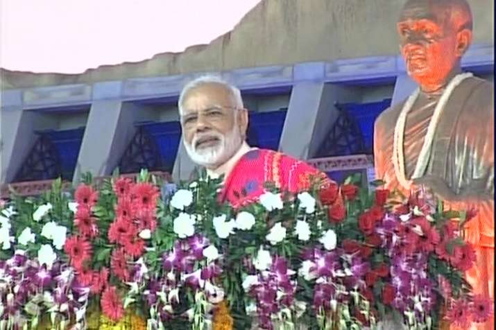 PM Modi addresses rally in Dabhoi
