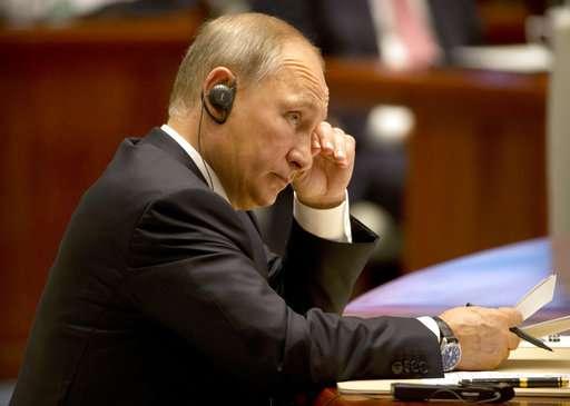 Vladimir Putin at BRICS Summit 2017