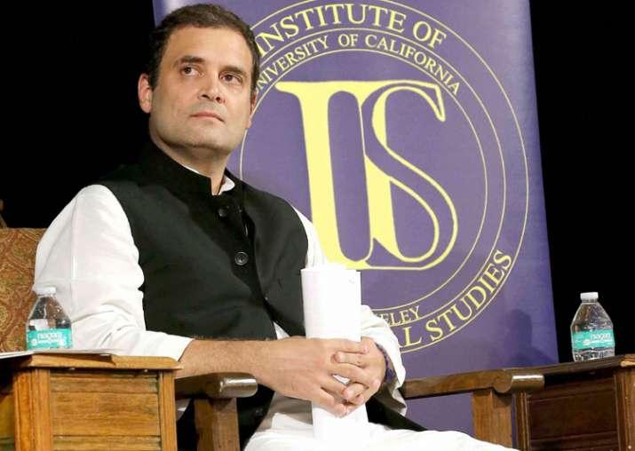 Rahul Gandhi at Institute of International Studies at UC