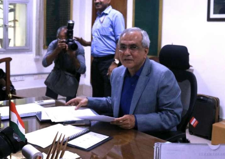 Economist Rajiv Kumar takes charge as the vice-chairman of