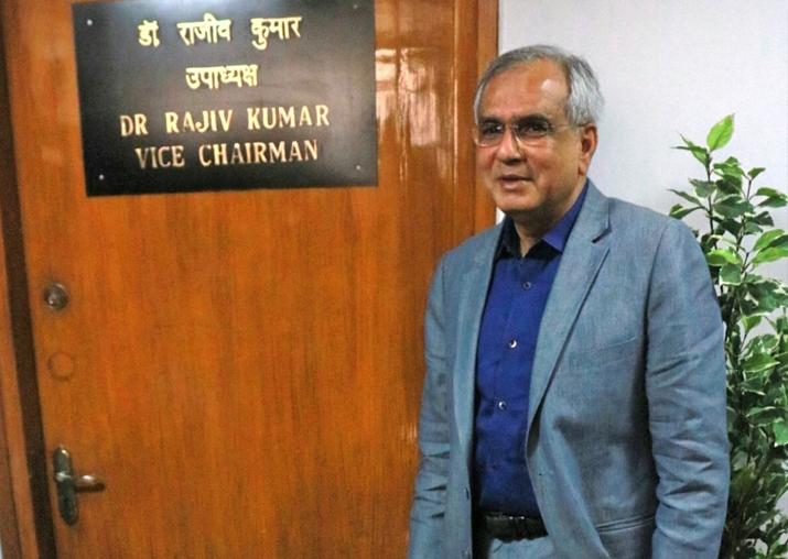 File pic - NITI Aayog Vice Chairman Rajiv Kumar