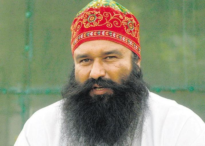 File pic of Ram Rahim