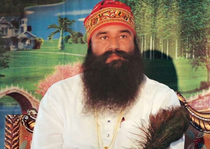 File pic of Ram Rahim