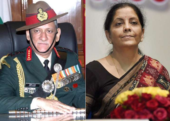 Army Chief General Bipin Rawat briefs Defence Minister