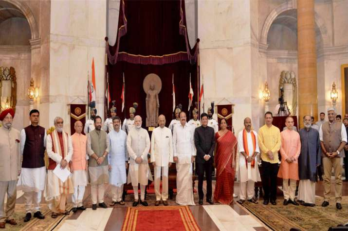 Modi Cabinet Reshuffle 2017 Here Is Full List Of Cabinet
