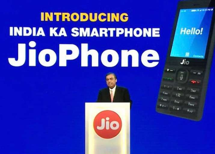 Deliveries for Reliance JioPhone began on Sunday