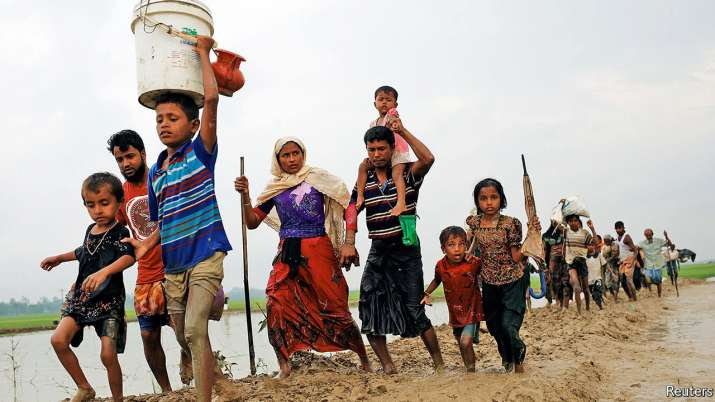 Some 40,000 Rohingyas have settled in India over the past