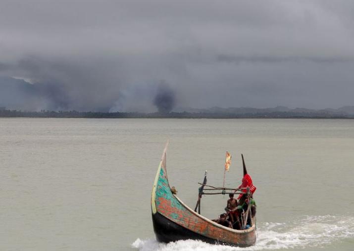 Representational pic - 14 killed as Rohingya boat capsizes