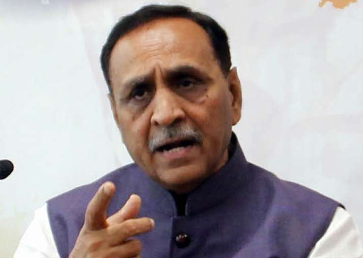 File pic of Gujarat Chief Minister Vijay Rupani