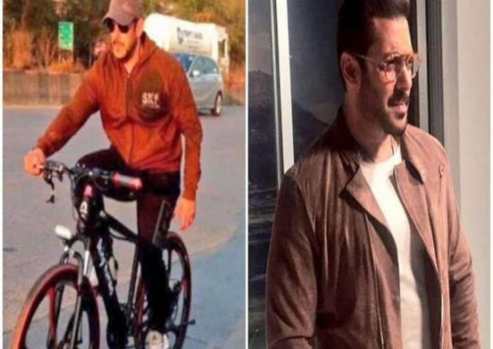 India Tv - Salman cycling
