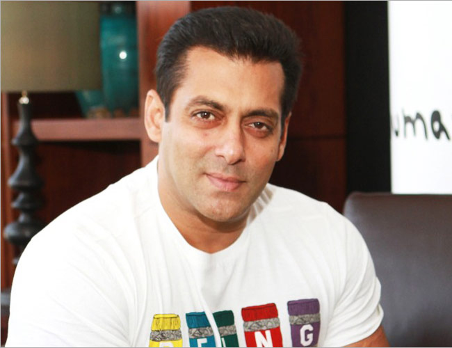 Salman Khan on talent hunt