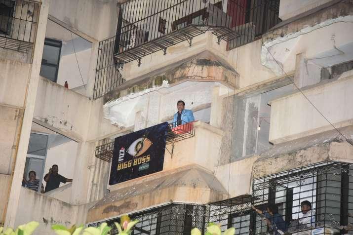 India Tv - Salman Khan makes a grand entry at Bigg Boss 11 press conference