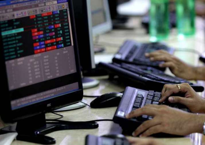 Sensex stays up for 6th day, gains 55 points to close at