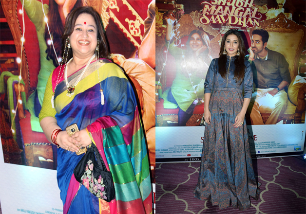 India Tv - Celebrities at success party of Shubh Mangal Saavdhan