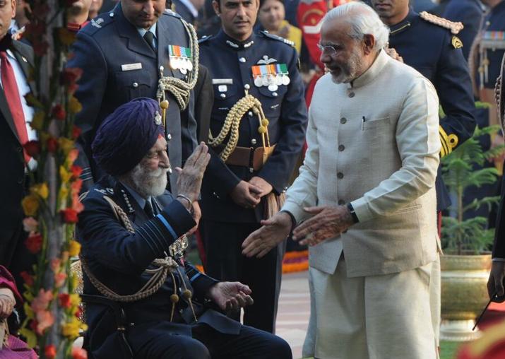 President Kovind, PM Modi condole demise of Marshal Arjan