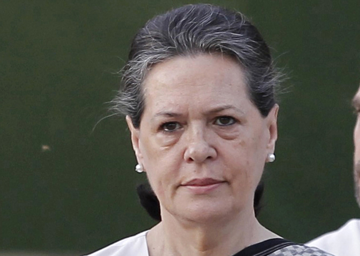 Congress president Sonia Gandhi on private visit to Goa