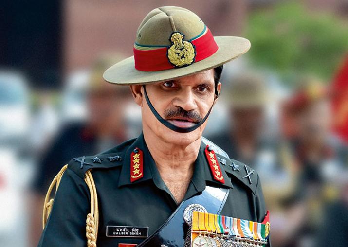 File pic - Former Army chief General Dalbir Singh Suhag