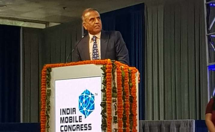 Sunil Bharti Mittal at India Mobile Congress 2017