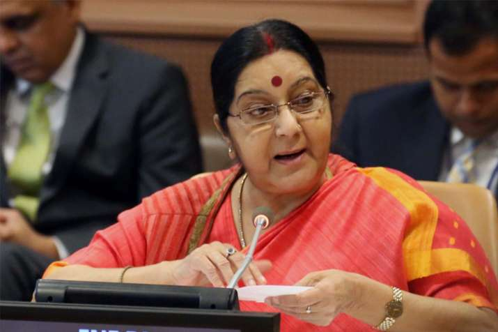 External Affairs Minister Sushma Swaraj at UNGA