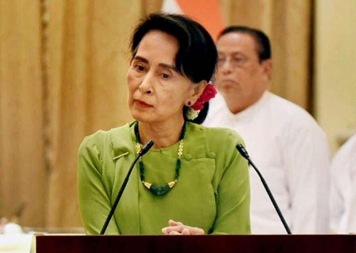 State Counsellor of Myanmar Aung San Suu Kyi
