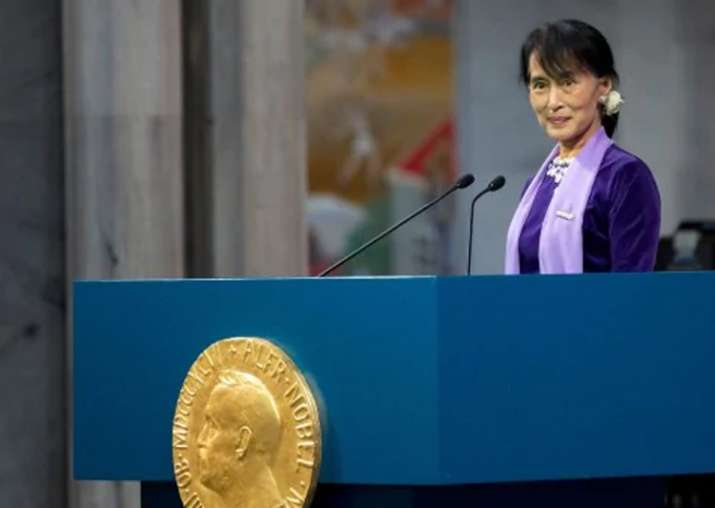File pic - Aung Sang Suu Kyi can't be stripped of prize: