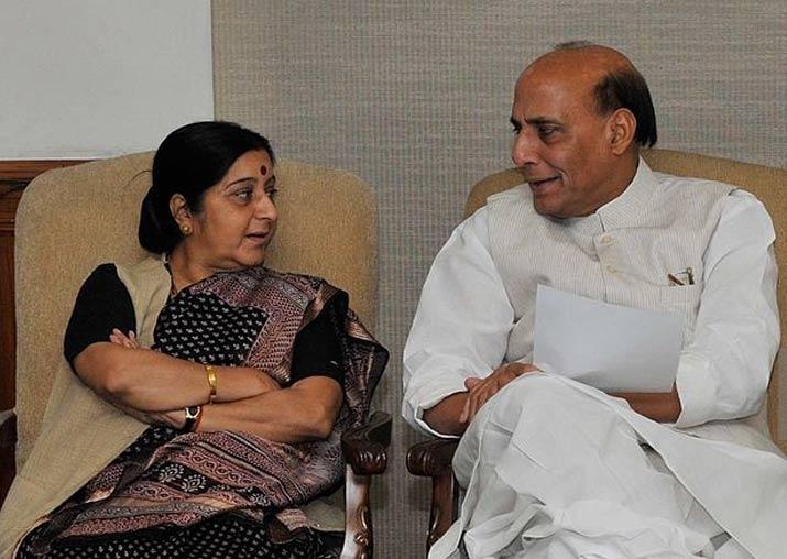 Rajnath Singh hails Sushma Swaraj's UN speech