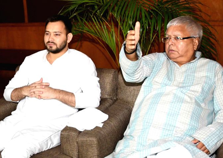 CBI issues fresh summons to Lalu Prasad, Tejashwi in IRCTC