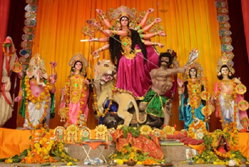 India Tv - Kashmiri Gate Durga Puja Pandal