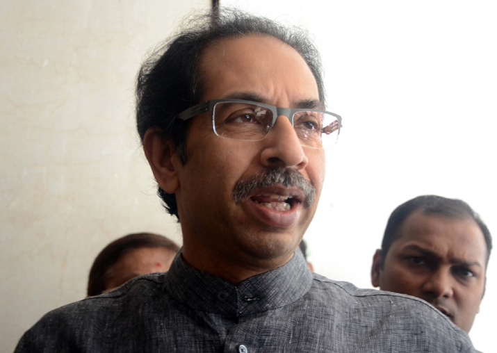 File pic of Uddhav Thackeray