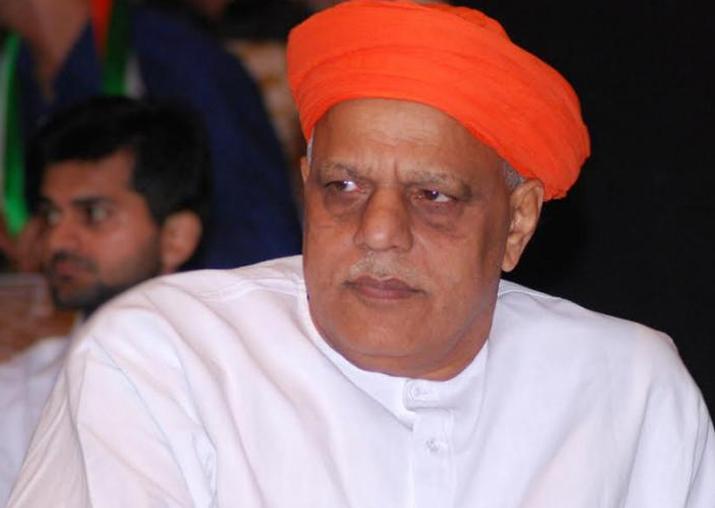 File pic of BJP MP Virendra Singh