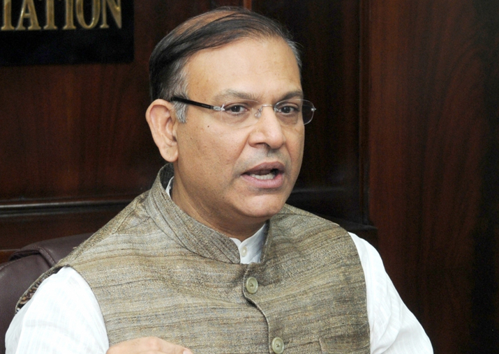 File pic of Jayant Sinha