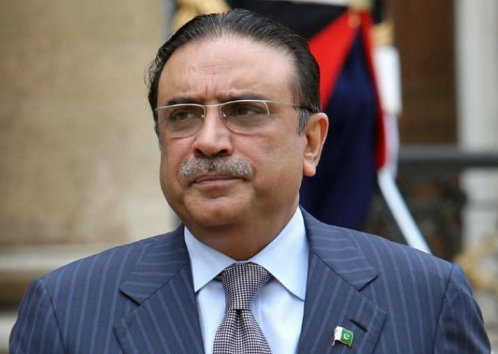 File pic of Asif Ali Zardari