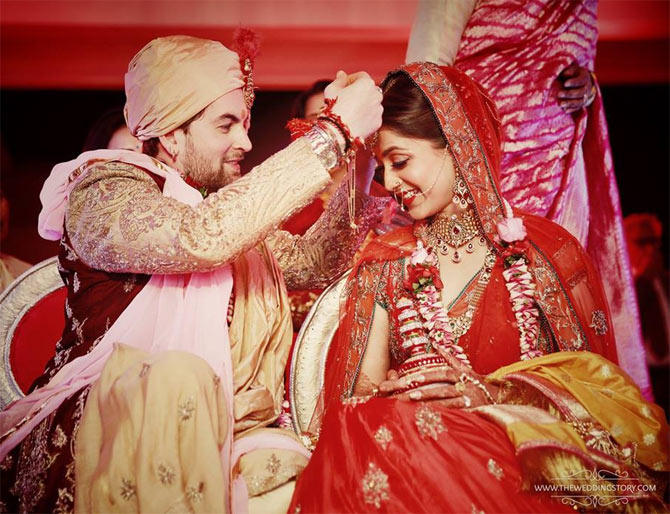 India Tv - ​The couple tied the knot in a traditional Hindu ceremony on February 9.