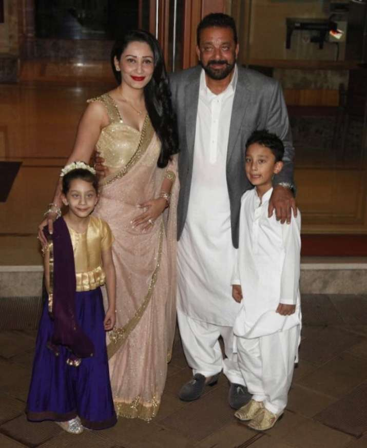 India Tv - sanju baba and family