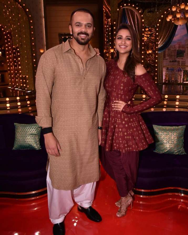 India Tv - rohit and parineeti