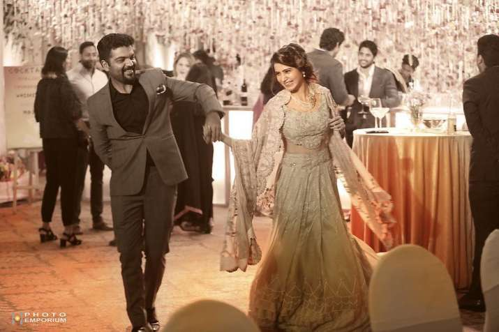 Rana Daggubati in Samantha and Naga Chaitanya's wedding
