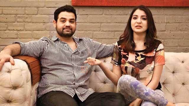 India Tv - Anushka Sharma with brother Karnesh Sharma