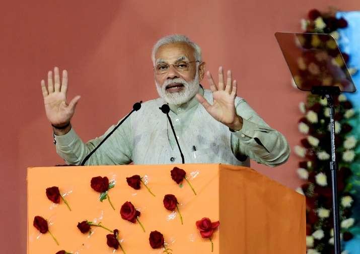 Prime Minister Narendra Modi in Karnakata