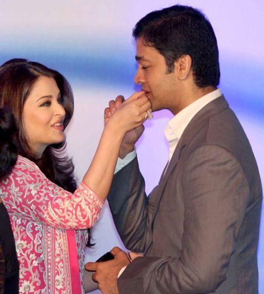 India Tv - Aishwarya Rai with brother Aditya Rai